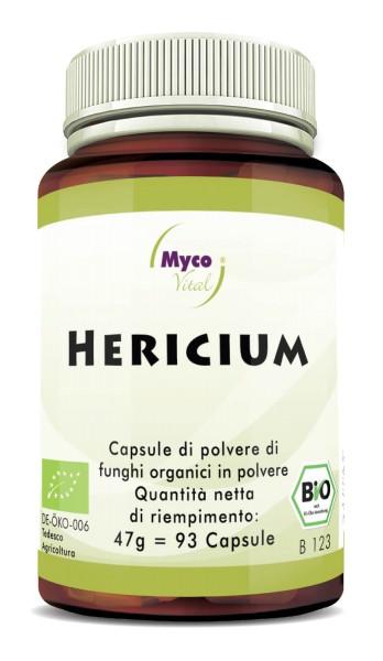 Hericium Capsule di polvere di funghi vitali organici