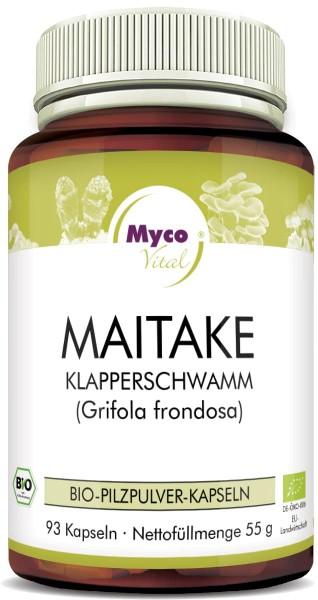 Maitake Organic vital mushroom powder capsules