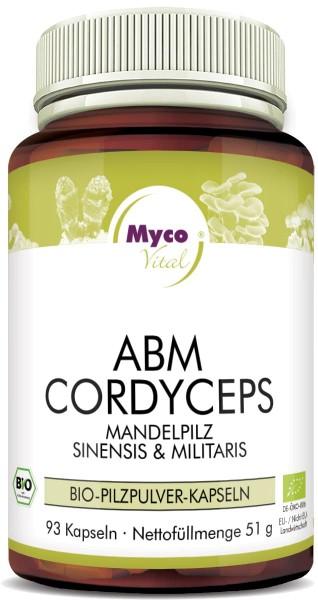 ABM-CORDYCEPS Bio-Pilzpulver-Kapseln (Mischung 342)