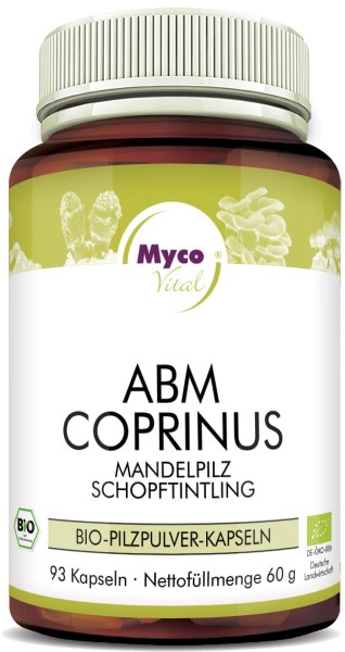 ABM-COPRINUS Bio-Pilzpulver-Kapseln (Mischung 329)