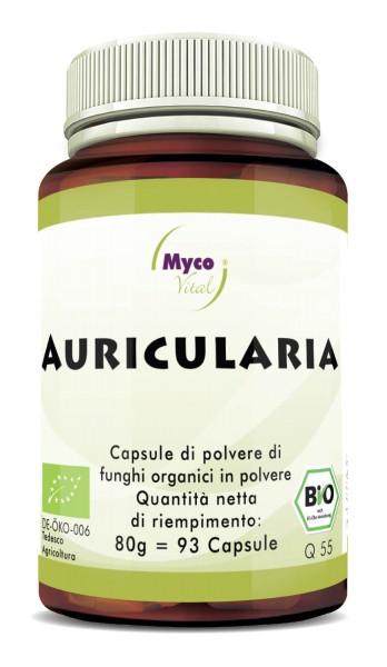 Auricularia Capsule di polvere di funghi vitali organici