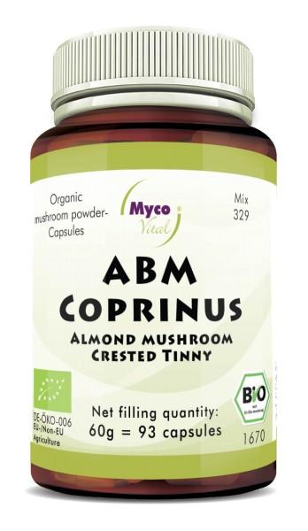 ABM-Coprinus Organic mushroom powder capsules (blend 329)