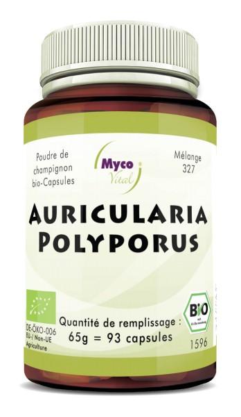 Auricularia-Polyporus Capsules de poudre de champignons biologiques (mélange 327)