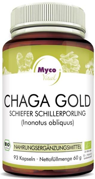 CHAGA GOLD Kapseln Bio-Vitalpilzpulver