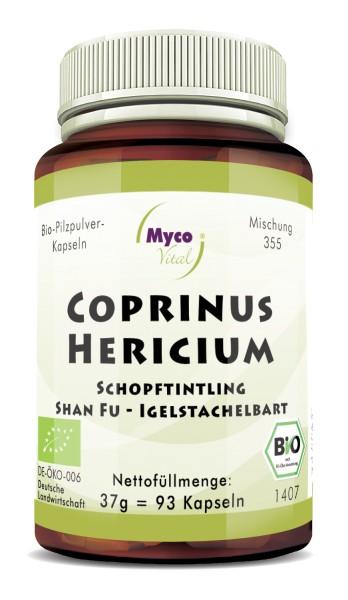 COPRINUS-HERICIUM Bio-Pilzpulver-Kapseln (Mischung 355)