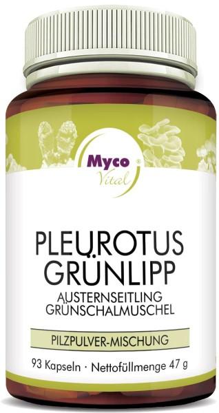 PLEUROTUS-GRÜNLIPP-Pulver Kapseln (Mischung 541)