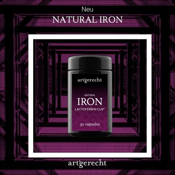 NATURAL IRON - Lactoferrin CLN (Clean)