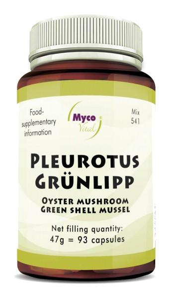 Pleurotus GREEN LIPP powder capsules (blend 541)