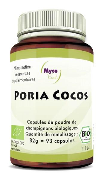 Poria Cocos Gélules de poudre de champignon vital biologique