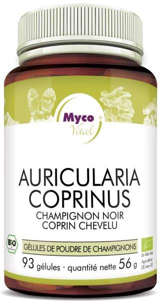 AURICULARIA-COPRINUS Bio-Pilzpulver-Kapseln (Mischung 313)