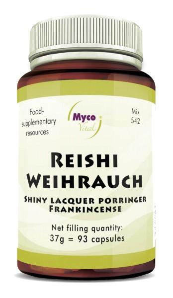 Reishi WEIHRAUCH powder capsules (blend 542)