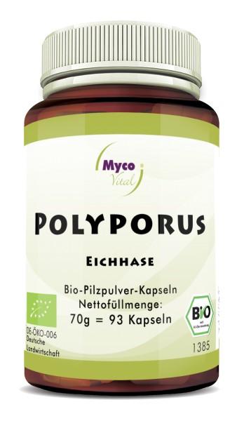 POLYPORUS Bio-Vitalpilzpulver-Kapseln