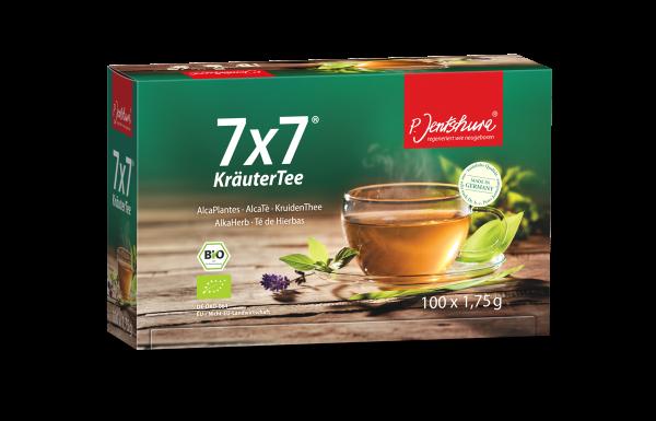 BIO 7x7® HerbalTea 100 tea bags