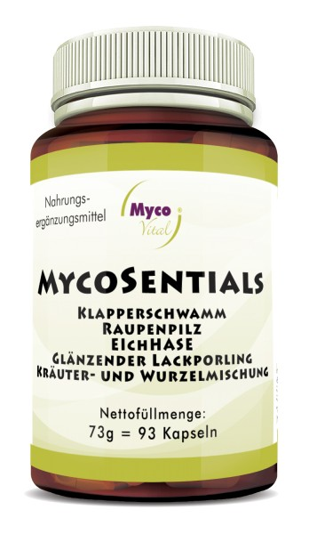 MycoSentials capsules (blend no. 551)