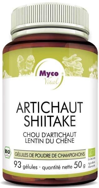 Shiitake-ARTICOCK gélules de poudre organique (mélange 545)