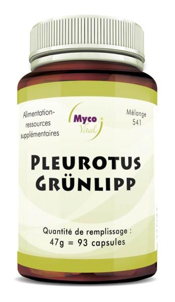 Pleurotus Gélules de poudre LIPP VERT (mélange 541)