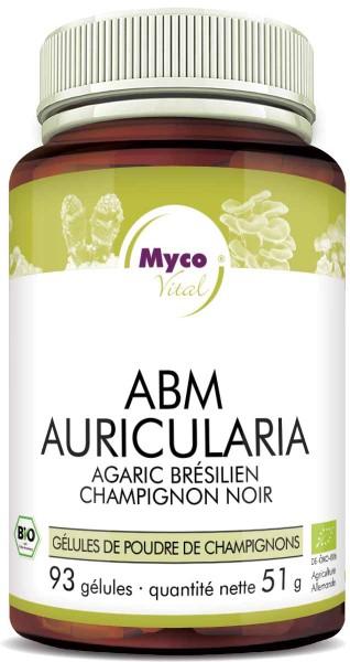 ABM-Auricularia Capsules de poudre de champignons biologiques (mélange 333)