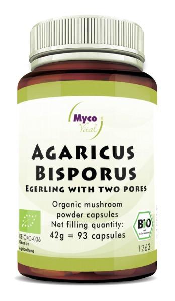 Agaricus Bisporus Organic vital mushroom powder capsules