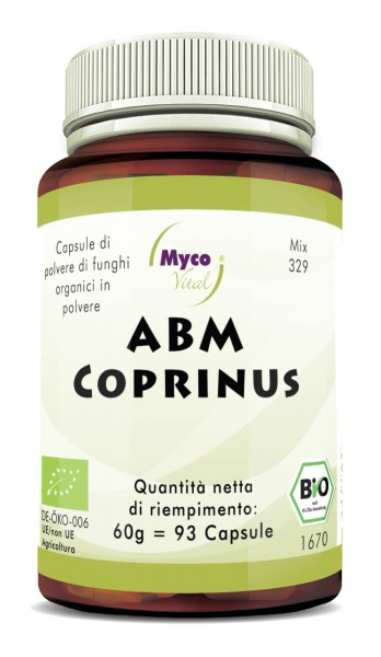 ABM-Coprinus Capsules de poudre de champignons biologiques (mélange 329)