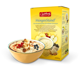 BIO MorgenStund® Millet buckwheat porridge with fruits and seeds