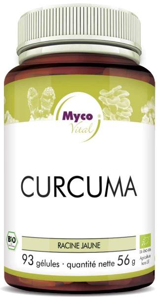 Curcuma BIO avec capsules de poivre BIO (mélange 550)