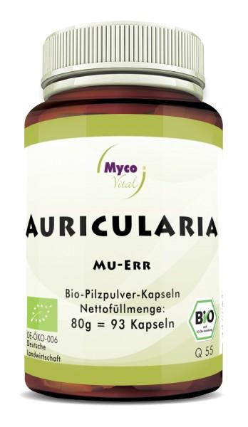 AURICULARIA Bio-Vitalpilzpulver-Kapseln
