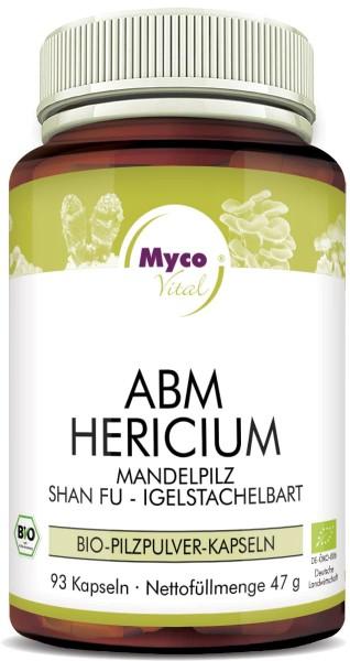 ABM-HERICIUM Bio-Pilzpulver-Kapseln (Mischung 343)
