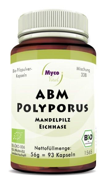 ABM-POLYPORUS Bio-Pilzpulver-Kapseln (Mischung 338)