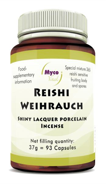 REISHI-INCENS powder capsules (blend no. 365)