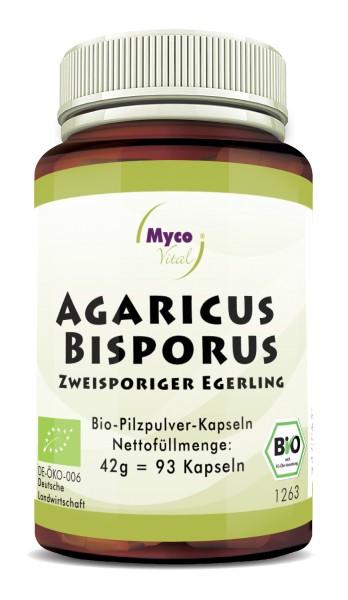 Agaricus Bisporus Bio-Vitalpilzpulver-Kapseln