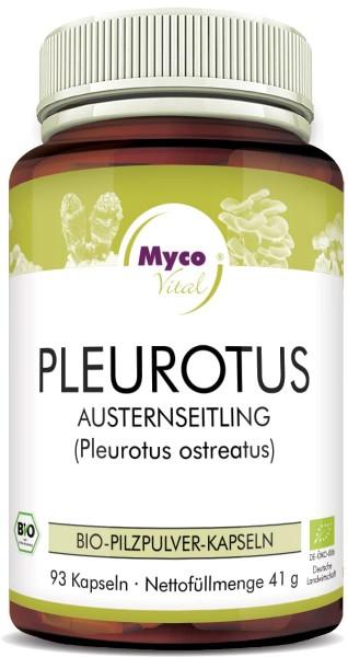 Pleurotus Organic vital mushroom powder capsules