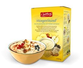 BIO MorgenStund® Hirse-Buchweizen-Brei mit Früchten und Samen