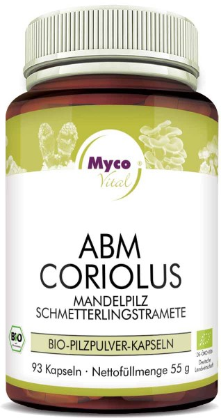 ABM-CORIOLUS Bio-Pilzpulver-Kapseln (Mischung 359)