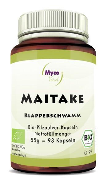 MAITAKE organic mushroom powder capsules