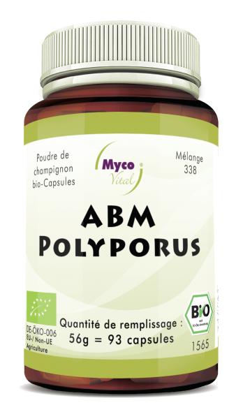 ABM-Polyporus Capsules de poudre de champignons biologiques (mélange 338)