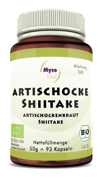 SHIITAKE-ARTISCHOCKEN Bio-Pulver-Kapseln (Mischung 545)