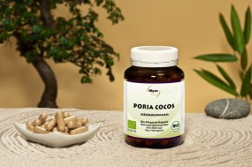 BIO Poria Cocos-Pilzpulver-Kapseln