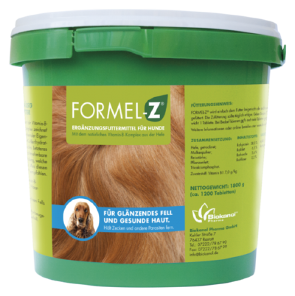 Formel-Z® Ergänzungsfuttermittel für Hunde XXL