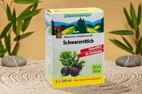 SCHWARZRETTICHSAFT BIO 3 x 200ml