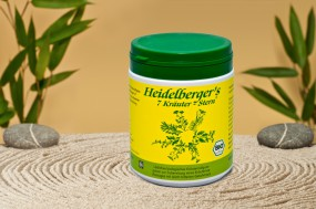 BIO Heidelberger 7 Kräuter, Pulver 250 gr